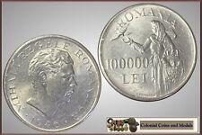 Romania :- 100000 Lei 1946  .....  UNC