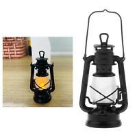 1:6 LED Lampe À Huile Lanterne Lumières Chaudes avec Interrupteur pour 12 pouc