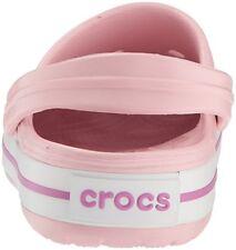 QTY:3 Crocs Unisex Crocband Pearl Pink/Wild Orchid  US Men 11 M(D)-Women 13 M(B)