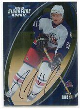 2002-03 BAP Signature Series Autographs Gold 183 Rick Nash Rookie Auto