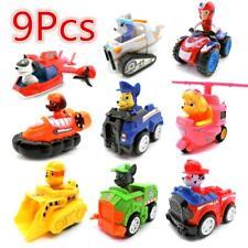 Paw Patrol Lot 9pcs Figurines Jouet Pat Patrouille Chien Chat Voiture Doll Set