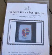 """""""Blue, Red, Yellow sails"""" Jeanette Crews Designs, Inc"""