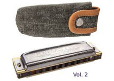 Hohner Collector Ed. Remaster Vol. 2 German Harmonica-Key C-Free instructions