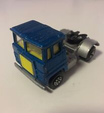 Matchbox Blue Scammell Tractor Truck Cab - Vintage 1973 K17-23 1:64 - NICE
