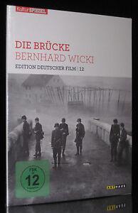 DVD DIE BRÜCKE - EDITION DEUTSCHER FILM (Regie: BERNHARD WICKI) FRITZ WEPPER NEU