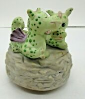 Puff The Magic Dragon Aldon Music Box 1982 Vintage