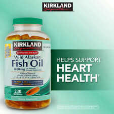Kirkland Signature Wild Alaskan Fish Oil, 1,400 mg., 230 Softgels