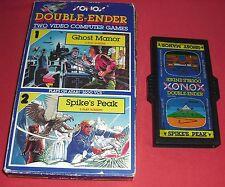 Atari 2600 Xonox Double-Ender Ghost Manor Spike's Peak [PAL] *JRF*