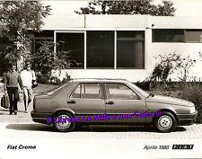 FOTOGRAFIA ORIGINALE DI GRANDE FORMATO _ automobili _ FIAT CROMA _ Aprile 1986