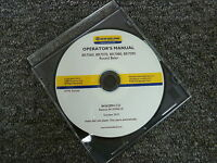 New Holland BR7060 BR7070 BR7080 BR7090 Round Baler Owner Operator Manual CD