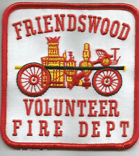 "Friendswood, TX  (3.5"" x 3.5"" size)  fire patch"