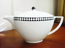 Jasper Conran Wedgwood MOSAIC BLACK Large Teapot - NEW!