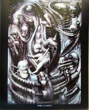 H R Giger Poster National Parc  I 1975 15x12 Offset Lithograph Unsigned