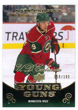10-11 Upper Deck Nate Prosser Young Guns Exclusives Rookie Card RC #469 /100