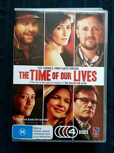 THE TIME OF OUR LIVES_ DVD, 4-DISC SET- REGION-2+4, LIKE NEW, FREE POST