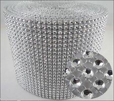 Diamante cake stand Pedestal silver wood top - SQUARE SHAPE   many sizes