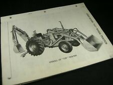 CASE Model 320 Wheel Tractor Parts Manual Catalog Book List OEM