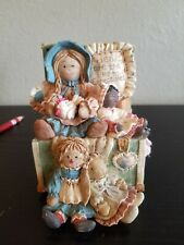 """1996 Vintage The San Francisco Music Box Co """"Friends Are The Best Collectibles""""o"""