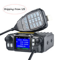 Mobile Car Radio Transceivers 25W VHF UHF 146/222/365/435MHz SOCOTRAN ST-7900D