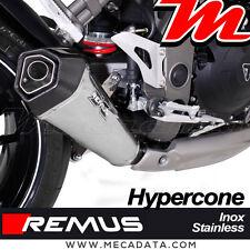 Silencieux Pot échappement Remus Hypercone inox Triumph Speed Triple 1050 R 2016
