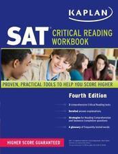 Kaplan SAT Critical Reading Workbook Kaplan Paperback