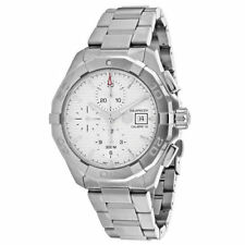 TAG Heuer Men's Silver Band Wristwatches