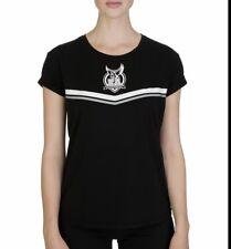 Emporio Armani Black Top RRP £42 Size M 12 Lounge Underwear Tshirt