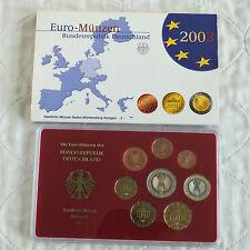 Germania 2003 7 MONETE EURO PROOF SET ZECCA F MARK-non aperto/esterno