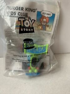 1995 Toy Story - Burger King Kid's Club - RC Racer Car Sealed Disney Pixar
