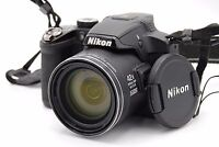 NIKON COOLPIX P510 16.1MP 3''Screen 41.7x Zoom Digital Camera BLACK