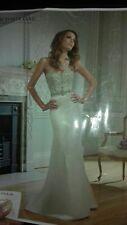 Beautiful Victoria Jane wedding dress size 12 by Ronald joyce ivory diamantie