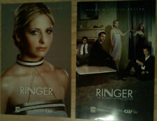 SARAH MICHELLE GELLAR Ringer POSTER x 2 Comic Con two-sided BUFFY VAMPIRE SLAYER