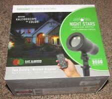 Night Stars Landscape Lighting Premium Series (Red and Green Moving Kaleidoscope