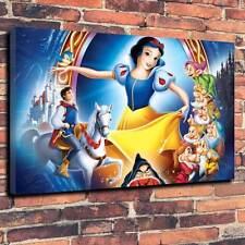 "Snow White Disney Kids Printed Canvas A1.30""x20""~Deep 30mm Frame Cartoon V5"