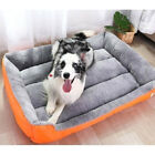 Dog Beds Waterproof Bottom Soft Fleece Warm Cat Bed House For Puppy Plush  xe