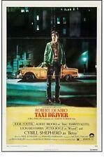"""Taxi Driver (1976). US One Sheet (27"""" X 41""""). De Niro, Scorsese - VG"""