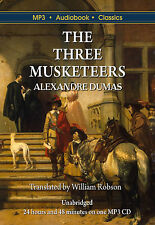 The Three Musketeers by Alexandre Dumas - MP3 CD audiobook in DVD case