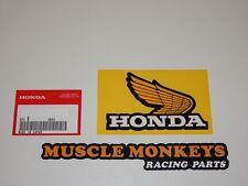 HONDA Monkey Tankaufkleber FLÜGEL HONDA Original Rechts