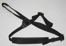 Minolta - Genuine Vintage Black Camera Neck Strap - vgc