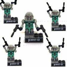 Lot 5pcs GI Joe KRE-O TRANSFORMERS KRE-O KREON Mini Figure Building Toy Gift