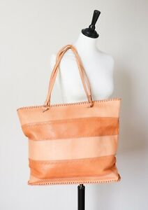 Shoulder Bag - Large - Leather Tote - Tan Brown - X Large