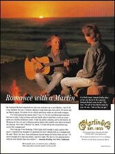 Martin D-1R acoustic guitar 1998 ad 8 x 11 advertisement print Amanda Bradley