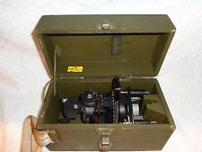 Sperti Inc. Ohio Astro-Compass MKII w Original Wood Case, D500, Military