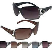 New Womens Eyewear Shield Designer Sunglasses Shades Fashion