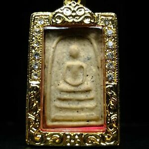 Rare Old Phra Somdej Toh Wat Rakhang .Champion Condition!!,Real Micron Case#2