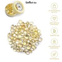 Lemon Topaz Loose Gemstones Mix Faceted Cut Natural Stone Wholesale Lot DIY Gems