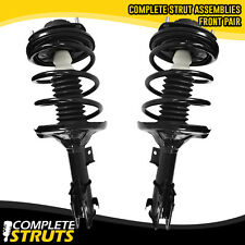 2001-2005 Dodge Stratus Coupe Front Complete Struts & Coil Springs w/ Mounts x2