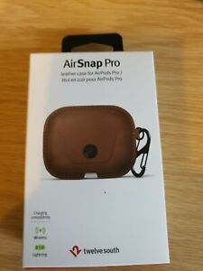 Twelve South Airsnap Pro Leather Protective Case  Apple AirPod Pros 12-1968