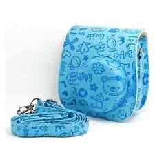Instant Camera Case Pu Leather Floral Shoulder Bag for Fujifilm Instax Mini8 Hot