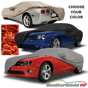 COVERCRAFT WeatherShield HP CAR COVER fits 2014 to 2019 Corvette C7 Stingray